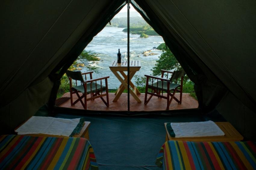 Nile Explorers Camp River Side tent